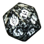Mirrodin Besieged - D20 Spindown Life Counter - Black Thumb Nail