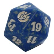 Mirrodin Besieged - D20 Spindown Life Counter - Blue Thumb Nail