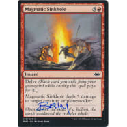 Magmatic Sinkhole Signed by Mark Behm Thumb Nail