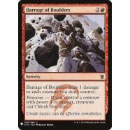 Barrage of Boulders Thumb Nail