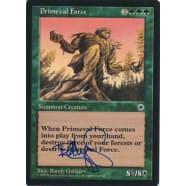 Primeval Force Signed by Randy Gallegos (Portal) Thumb Nail