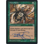 Giant Spider Signed by Randy Gallegos (Portal) Thumb Nail