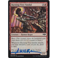 Burning-Tree Vandal FOIL Signed by Aaron Miller Thumb Nail