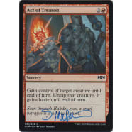 Act of Treason FOIL Signed by Scott Murphy Thumb Nail