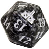 Rivals of Ixalan - D20 Spindown Life Counter - Black Thumb Nail