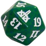 Rivals of Ixalan - D20 Spindown Life Counter - Green Thumb Nail