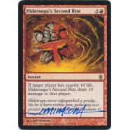 Hidetsugu's Second Rite Signed by Jeff Miracola (Savoirs of Kamigawa) Thumb Nail