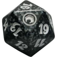 Scars of Mirrodin - D20 Spindown Life Counter - Black Thumb Nail