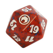 Scars of Mirrodin - D20 Spindown Life Counter - Red Thumb Nail