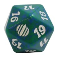 Shards of Alara - D20 Spindown Life Counter - Green Thumb Nail