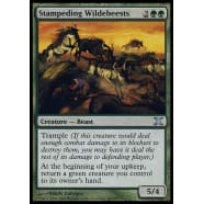 Stampeding Wildebeests Thumb Nail