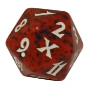 Tenth Edition - D20 Spindown Life Counter - Red Thumb Nail