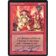 Brothers of Fire Signed by Mark Tedin (The Dark) Thumb Nail