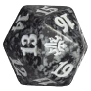 Throne of Eldraine - D20 Spindown Life Counter - Black Thumb Nail