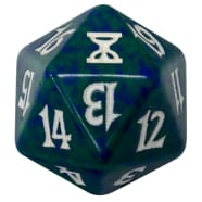 Time Spiral - D20 Spindown Life Counter - Green Thumb Nail