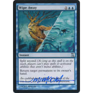 Wipe Away Signed by Jeff Miracola (Time Spiral) Thumb Nail