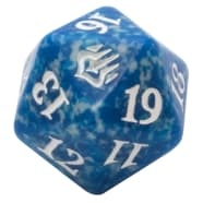 War of the Spark - D20 Spindown Life Counter - Blue Thumb Nail