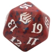 War of the Spark - D20 Spindown Life Counter - Red Thumb Nail