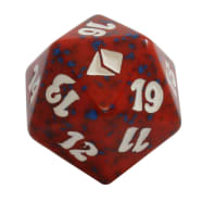 Zendikar - D20 Spindown Life Counter - Red Thumb Nail