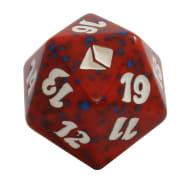 Zendikar - D20 Spindown Life Counter - Red Thumb Nail