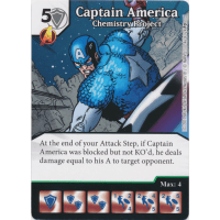 Captain America - Chemistry Project Thumb Nail