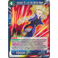 Android 18, Let the Battle Begin Thumb Nail