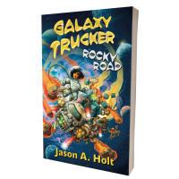 Galaxy Trucker: Rocky Road (Novel) Thumb Nail