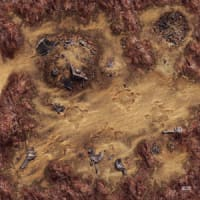 Star Wars: Legion - Desert Junkyard Gamemat Thumb Nail