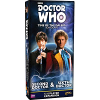 Doctor Who: Time of the Daleks - Second Doctor & Sixth Doctor Expansion Thumb Nail