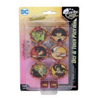 DC HeroClix: DC HeroClix: Harley Quinn and the Gotham Girls Dice & Token Pack Thumb Nail