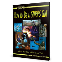 GURPS: How to be a GURPS GM Thumb Nail