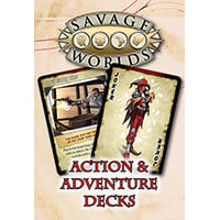 Savage Worlds: Action & Adventure Decks Thumb Nail