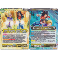 Android 17 & Android 18, Harbingers of Calamity / Android 17 & Android 18 Thumb Nail