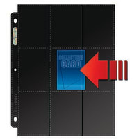 18 Pocket Side-Load Black Page Box- 50 Sheets Thumb Nail