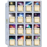 16 Pocket Folder Pages - Mini American Board Game Sleeve Size (100) Thumb Nail