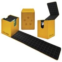 Deck Box - UltraPro - Magic - Alcove Flip Box - Gold Thumb Nail