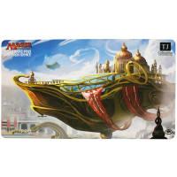 Grand Prix Providence Play Mat - Magic - Skysovereign, Consul Flagship Thumb Nail