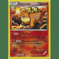 Camerupt - 22/149 (Reverse Foil) Thumb Nail