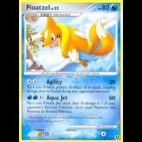 Floatzel - 37/106 Thumb Nail