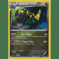Haxorus - 16/20 - Dragon Vault Stamped Mirror Holo Thumb Nail