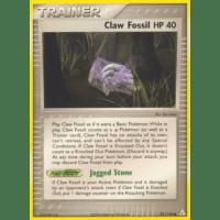 Claw Fossil - 91/110 Thumb Nail