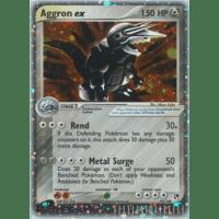 Aggron ex - 95/100 Thumb Nail