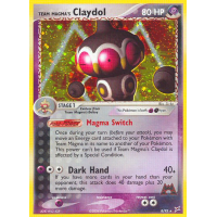 Team Magma's Claydol - 8/95 Thumb Nail