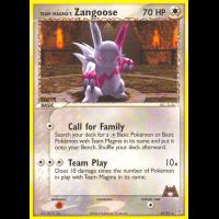 Team Magma's Zangoose - 23/95 Thumb Nail