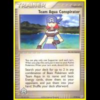 Team Aqua Conspirator - 77/95 Thumb Nail