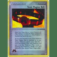 Team Magma Belt - 81/95 (Reverse Foil) Thumb Nail
