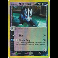 Team Aqua's Mightyena - 15/95 (Reverse Foil) Thumb Nail