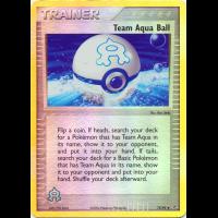 Team Aqua Ball - 75/95 (Reverse Foil) Thumb Nail