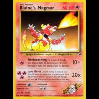 Blaine's Magmar - 37/132 Thumb Nail