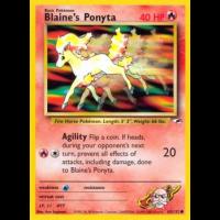 Blaine's Ponyta - 63/132 Thumb Nail